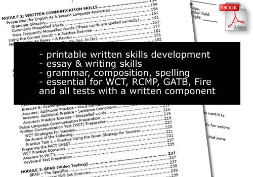 RCMP RPAT Training Course