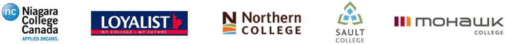 Educucation Partners : Niagra College Canada, Loyalist College, Northern College, Sault College, Mohawk College